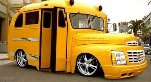 magic school bus cadillac