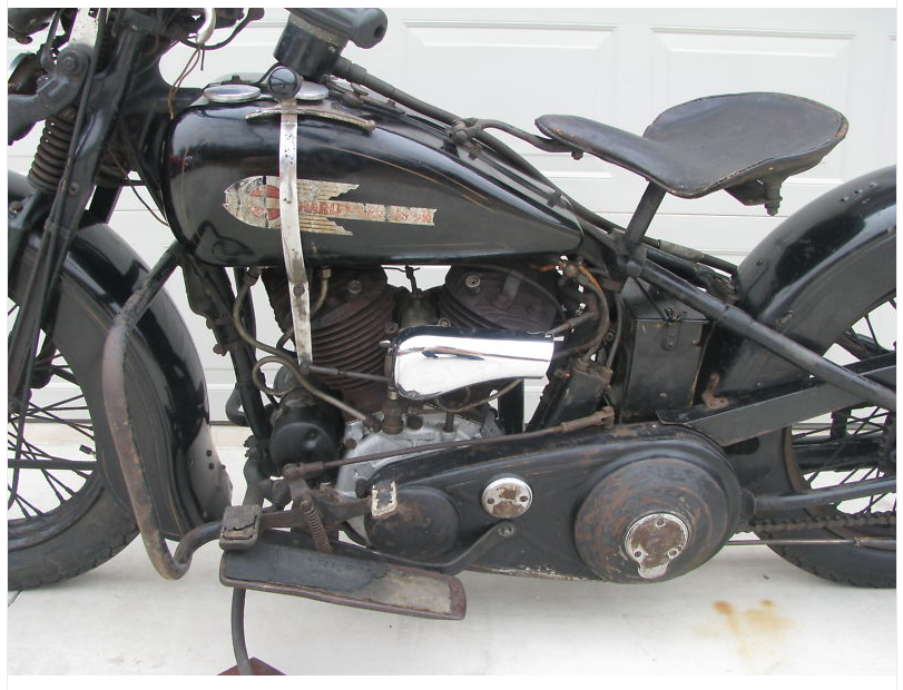 1936 Harley-Davidson Classic Found In Barn | eBay Motors Blog