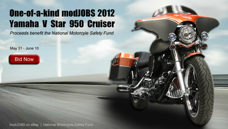 modJOBS custom Yamaha V Star 950