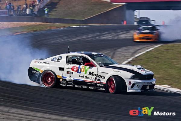 eBay Motors Formula Drift Mustang driven by Tony Brakohiapa