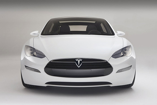 Tesla Model S Poster