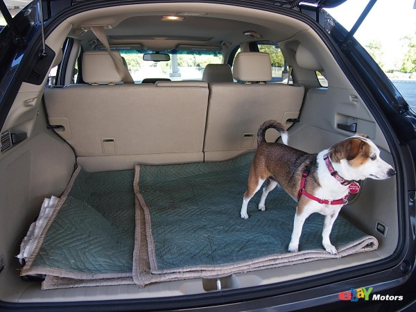 26 cubic feet of cargo space in the 2013 RDX