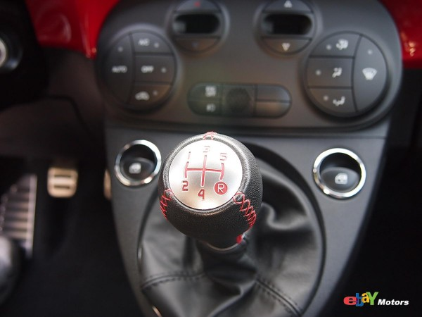 5-speed manual built specifically for the Abarth