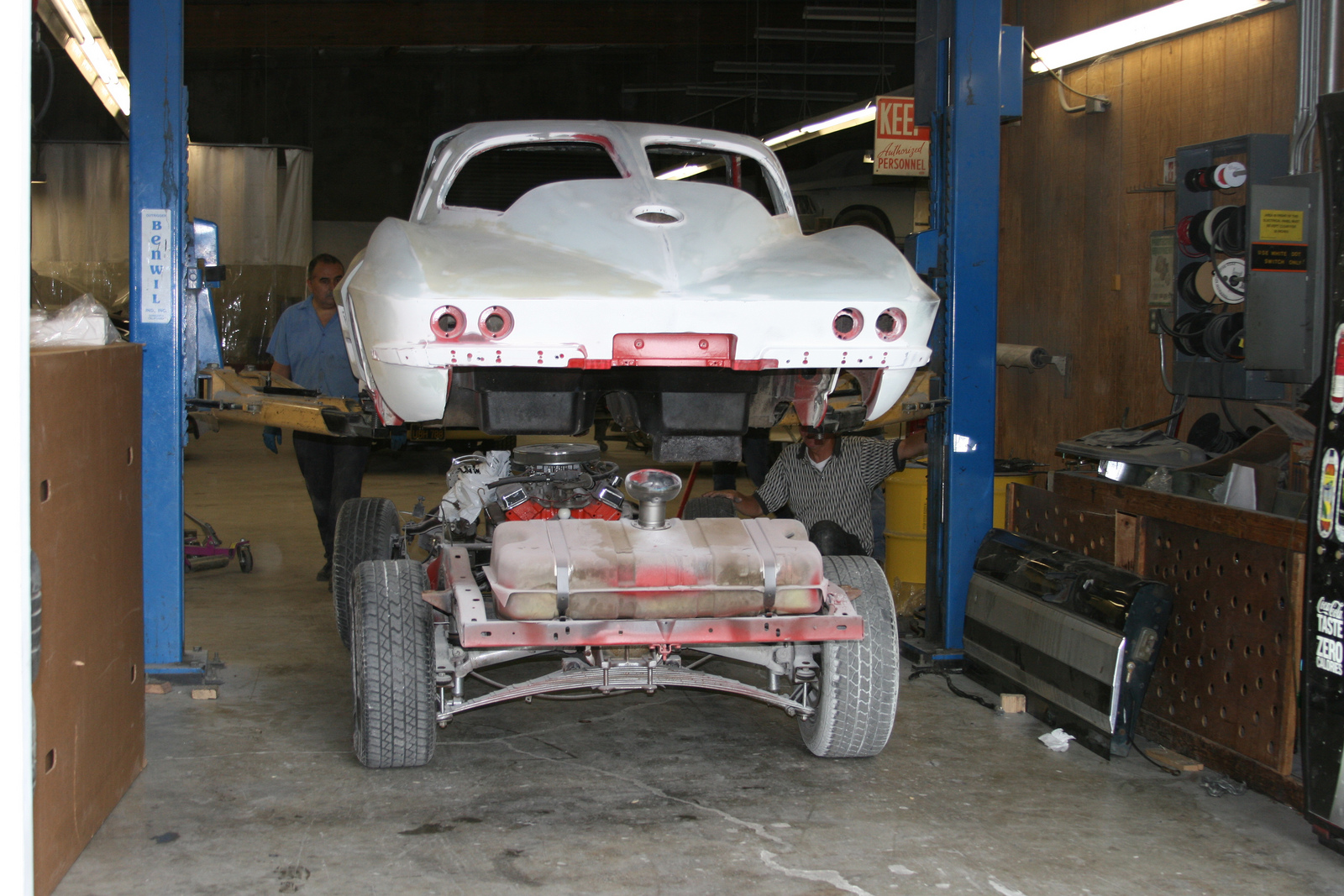 bring a trailer 1963 chevrolet corvette project