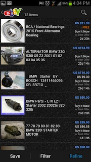 Ebay Motors App Now Available To Android Users Ebay Motors Blog