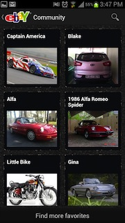 ebay motors android app new features