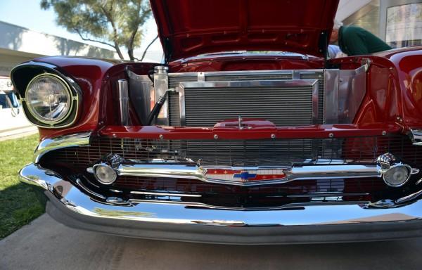 1957 Chevrolet Bel Air at SEMA 2012
