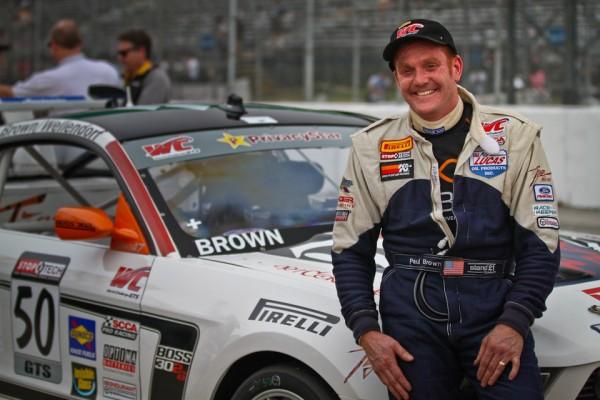 Paul Brown/Tiger Racing