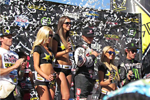 Ryan Beat, Hart and Huntington Off Road race team, podiums again