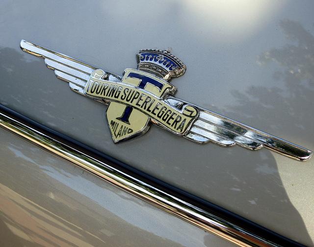 1962 Lancia Flamina touring superleggera badge