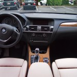 2013 BMW X3 xDrive35i interior