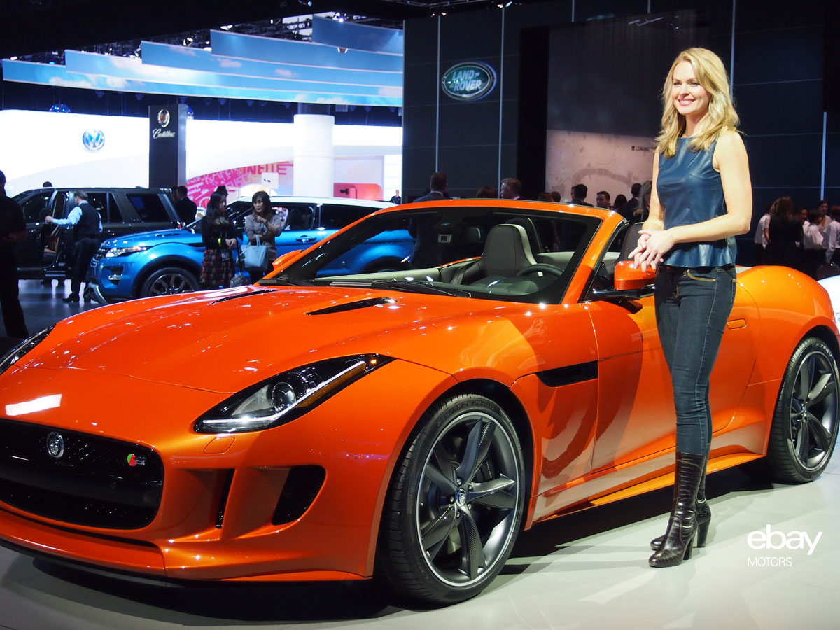 Jaguar F-TYPE at LA Auto Show