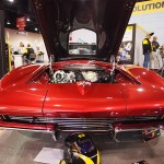 "Rod and Tina Saboury's split-window 1963 ""Black Widow"" Corvette"