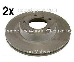 BMW front brake rotors