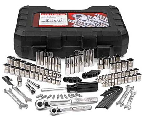 122 piece Craftsman tool set