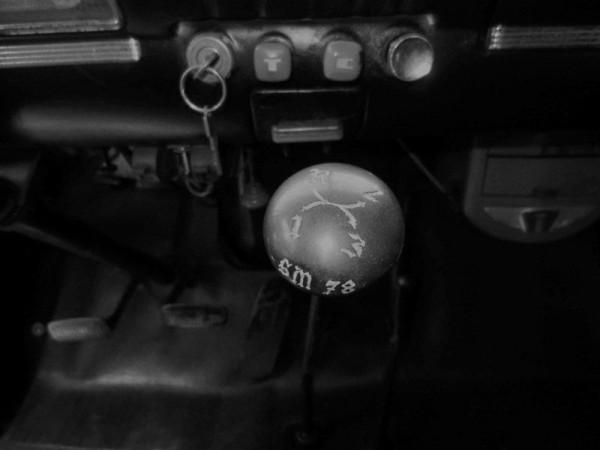 Von Dutch shift knob
