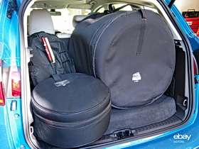 5-piece drum kit + hardware fits inside the Ford C-MAX