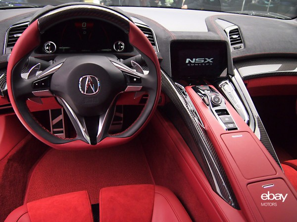 Acura NSX Hybrid Concept interior