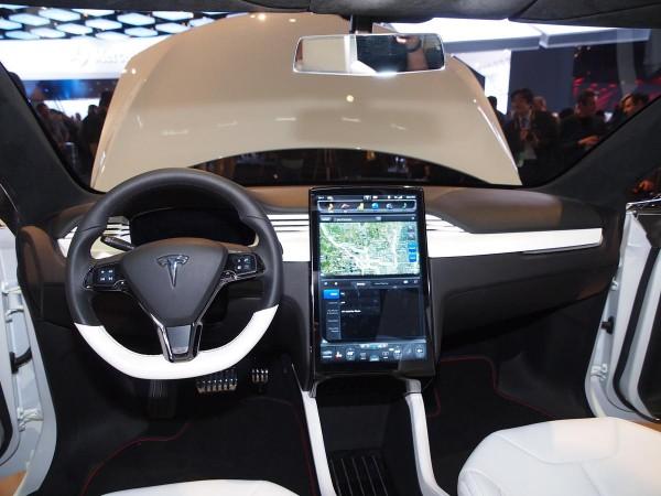 Tesla Model X Shown At Detroit Auto Show Ebay Motors Blog
