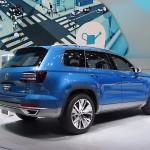VW Crossblue Diesel Hybrid Concept