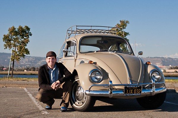 Eric and his all original 1967 VW Beetle