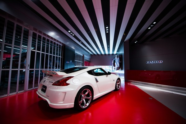 The 370Z NISMO in the new NISMO showroom