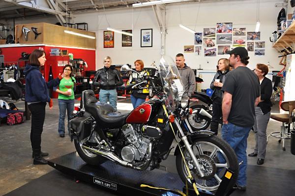 Moto Shop offers Basic Maintenance workshops