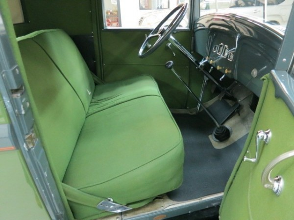 1931 Willys Six interior