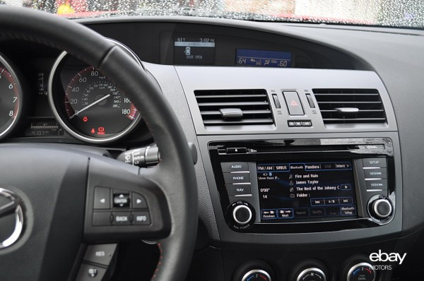 2013 Mazdaspeed3 Interior