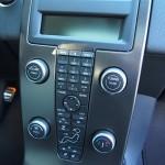 2013 Volvo C30 center console stack