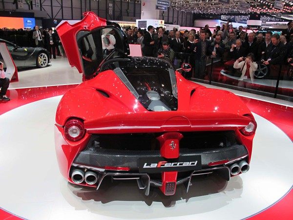 Ferrari Laferrari At Geneva Motor Show Ebay Motors Blog