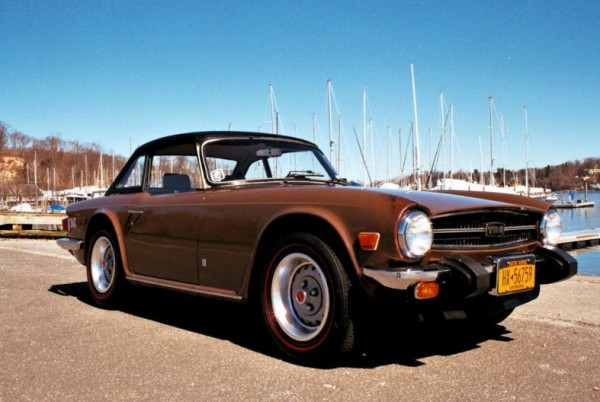1976 Triumph TR6 Original Paint and Interior | eBay Motors Blog