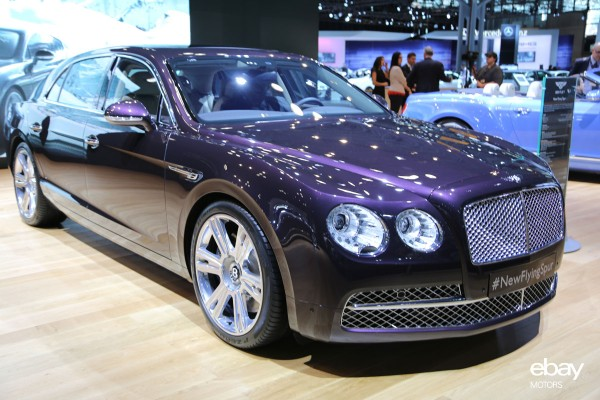 Bentley Flying Spur at NYIAS