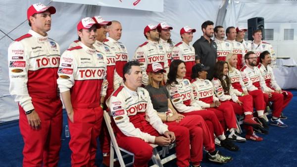 2013 Toyota Grand Prix Long Beach celebrity race