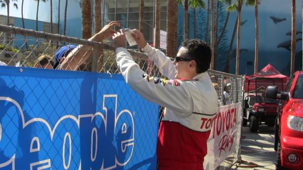 Adam Carolla at Toyota Grand Prix Long Beach