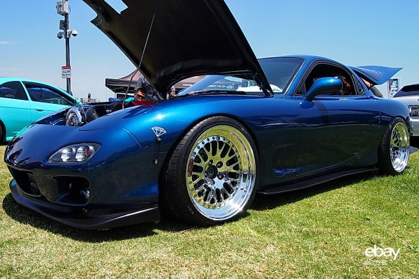 Corvette powered Mazda RX-7
