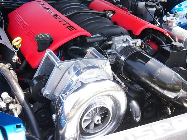 Corvette LS6 turbocharged V8