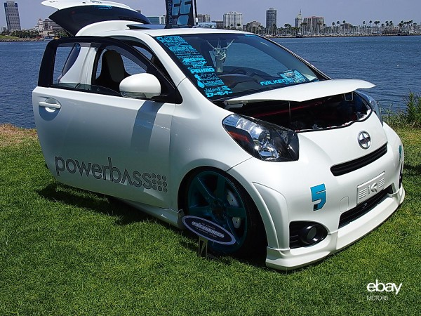 Powerbass Scion iQ