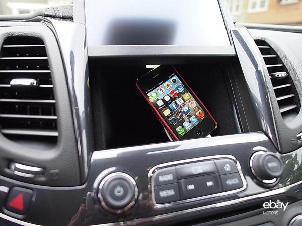 2014 Chevrolet Impala secret storage behind infotainment display