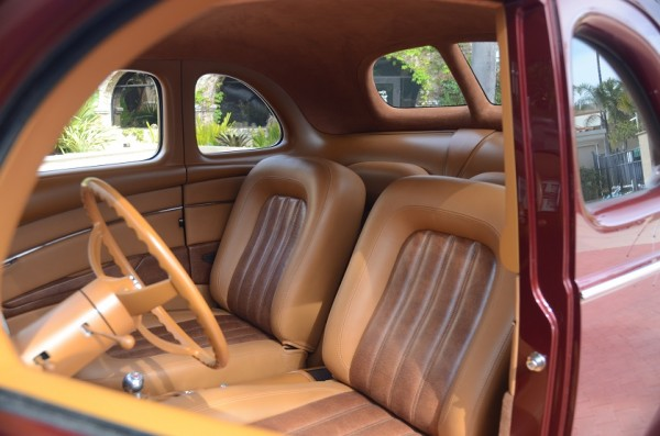 """Ron Cizek's """"Checkered Past"""" '40 Ford Wins Del Mar Street Rod d'Elegance Crown"""