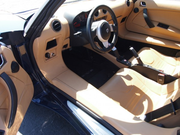 2010 Tesla Roadster 2.0 Interior