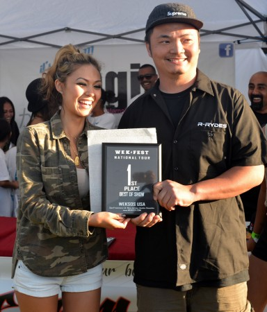 Wekfest LA Best of Show winner