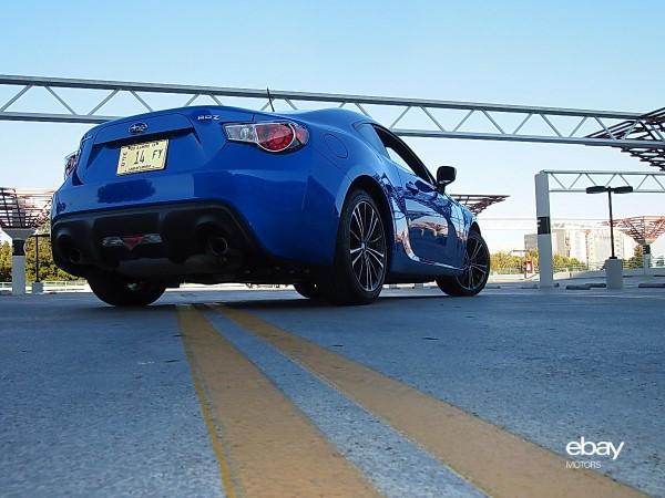 Subaru BRZ low center of gravity