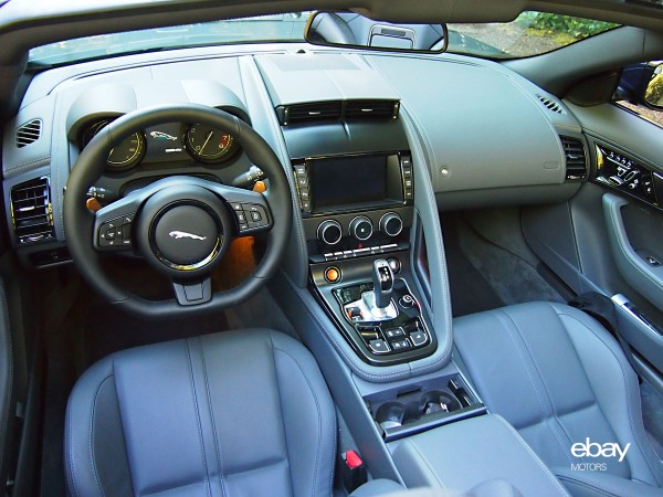 2014 Jaguar F TYPE Interior