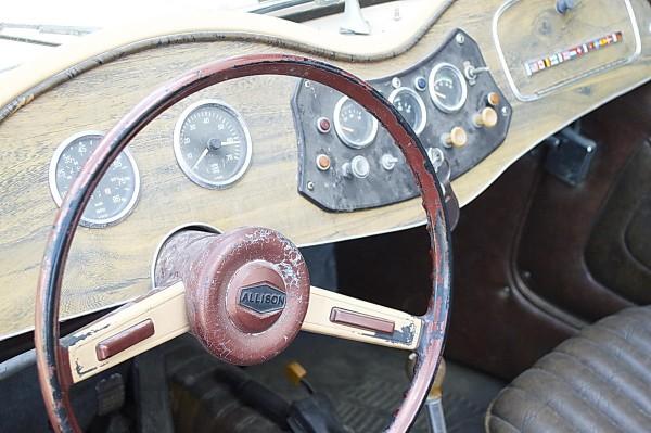 1980 Allison MG TD replica