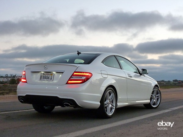 Review 2013 mercedes benz c350 coupe ebay motors blog for 2013 mercedes benz c350