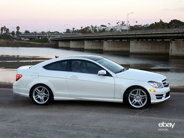 Review 2013 mercedes benz c350 coupe ebay motors blog for Mercedes benz 2013 c350