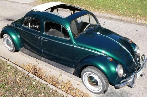Perfect 1965 VW Beetle 4 Door Push Pull