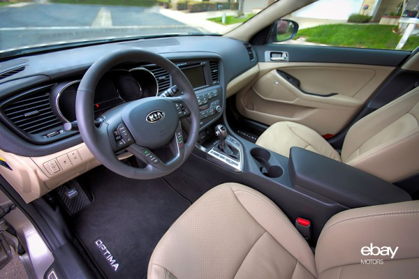 Beautiful 2013 Kia Optima Hybrid Interior
