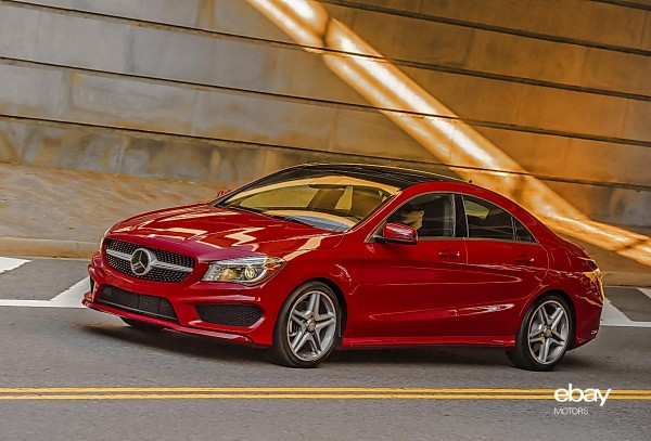 Review 2014 mercedes benz cla250 ebay motors blog for Mercedes benz cla 250 top speed